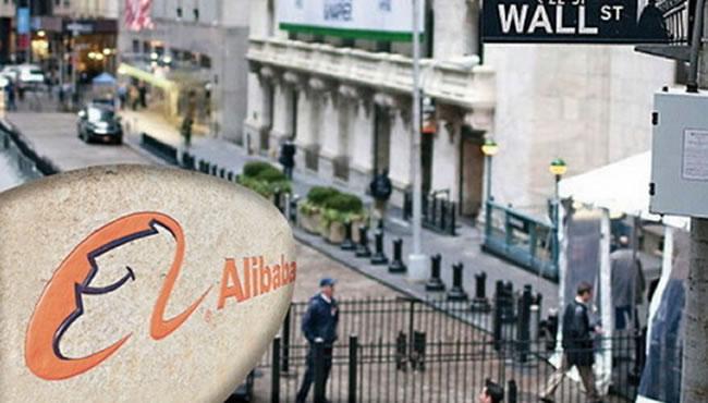 阿里巴巴在纽交所挂牌上市 确定发行价68美元 美股迎来史上最大IPO