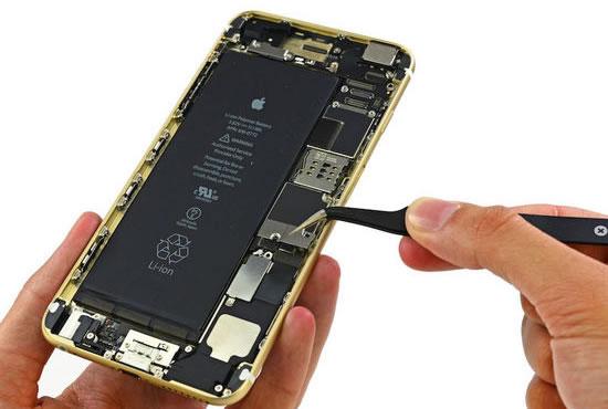 新iPhone拆解:iPhone 6 Plus电量约5s两倍