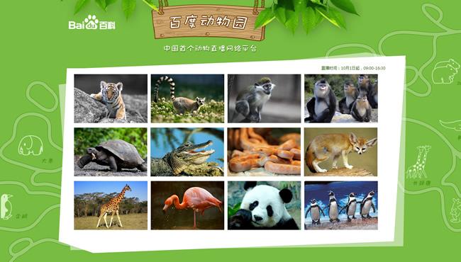 百度动物园正式版上线:最高日访问量近300万