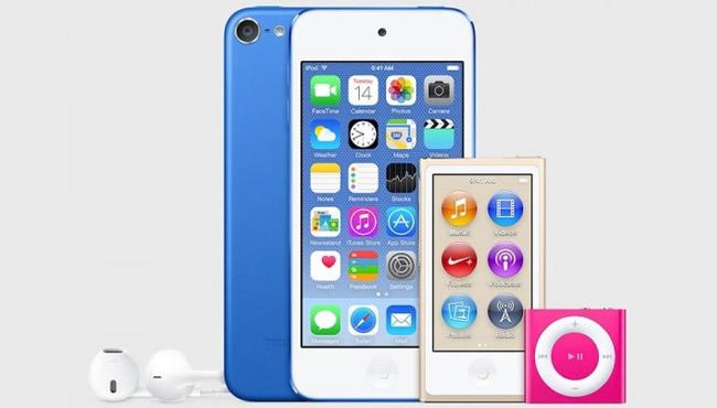 苹果推出全新iPod系列 iPod Touch 配备64位A8处理器 16GB容量199美元起