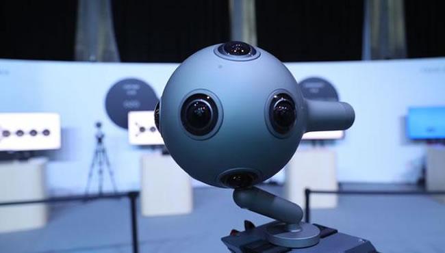 一体化设计 Nokia OZO到底是怎样的VR摄像机?