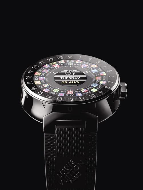 智能手表的奢华时代:LV的第一款智能手表来了