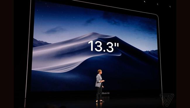 新款Retina显示屏MacBook Air发布 8349元起 11月7日开售