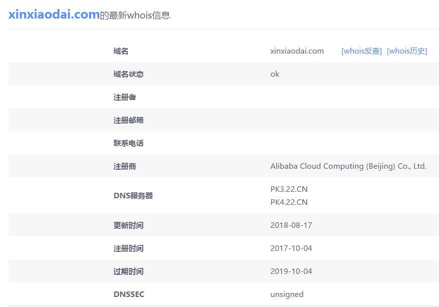 """支付宝回应""""中国锦鲤内定"""":域名xinxiaodai.com系他人注册 内定没劲"""