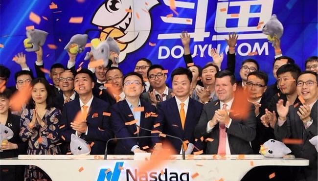 斗鱼上市首日报收11.5美元与发行价持平 市值约37亿