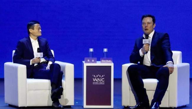 马云对话马斯克:AI时代人会活120岁,不会没工作